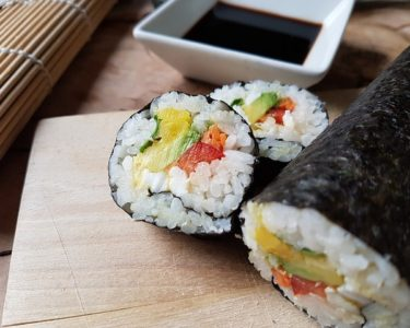 お寿司に行きました(中村)