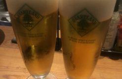 冷たいビール最高!!【石川】