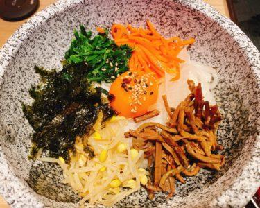 韓国料理を食べに行きました。【幸田】